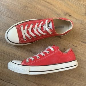 Converse Sneakers All Star Red Low Top M6 W8